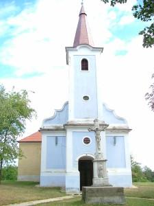 csehimindszent Mindenszentek régi templom