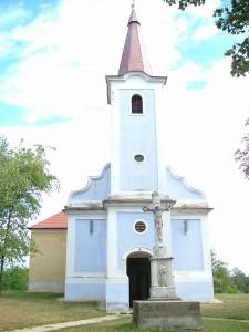 Mindenszentek temploma Csehimindszent